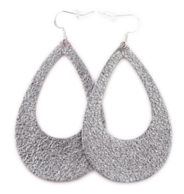 One Wild Eclipse Earrings Grey Small
