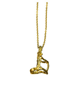Intrepid International Halter Necklace Gold Plated