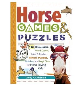 Kelley Horse Games and Puzzles Book