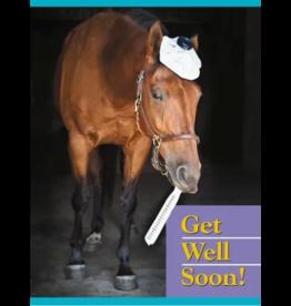 Horse Hollow Press Beasley Get Well Card
