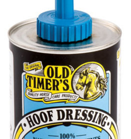 Old Timers Old Timers Hoof Dressing w ithBrush