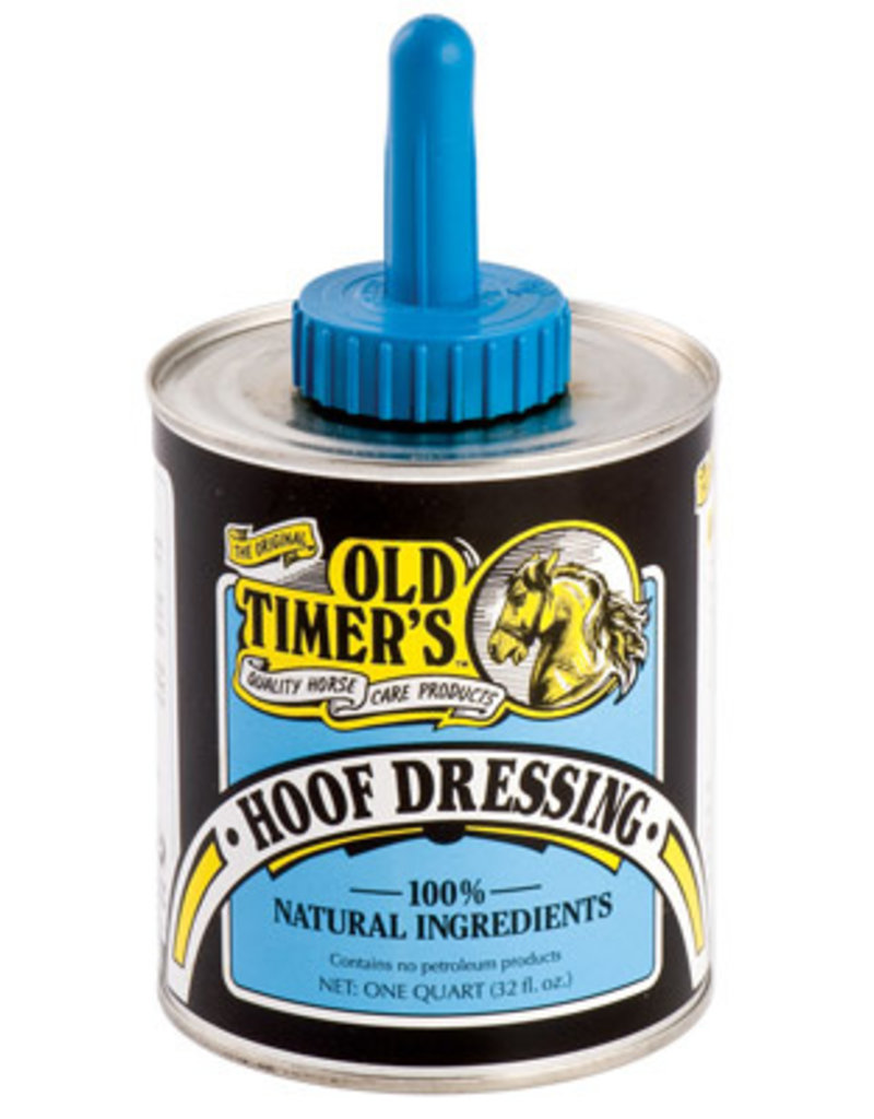 Old Timers Old Timers Hoof Dressing with Brush
