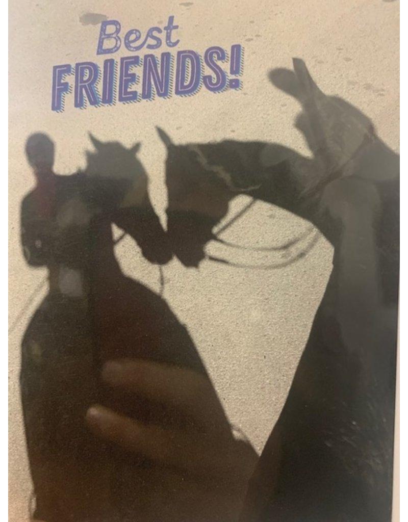 Horse Hollow Press Best Friends Card