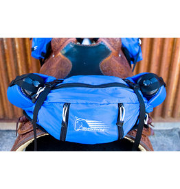 Easy Care Western Stowaway Saddle Pack Royal Blue