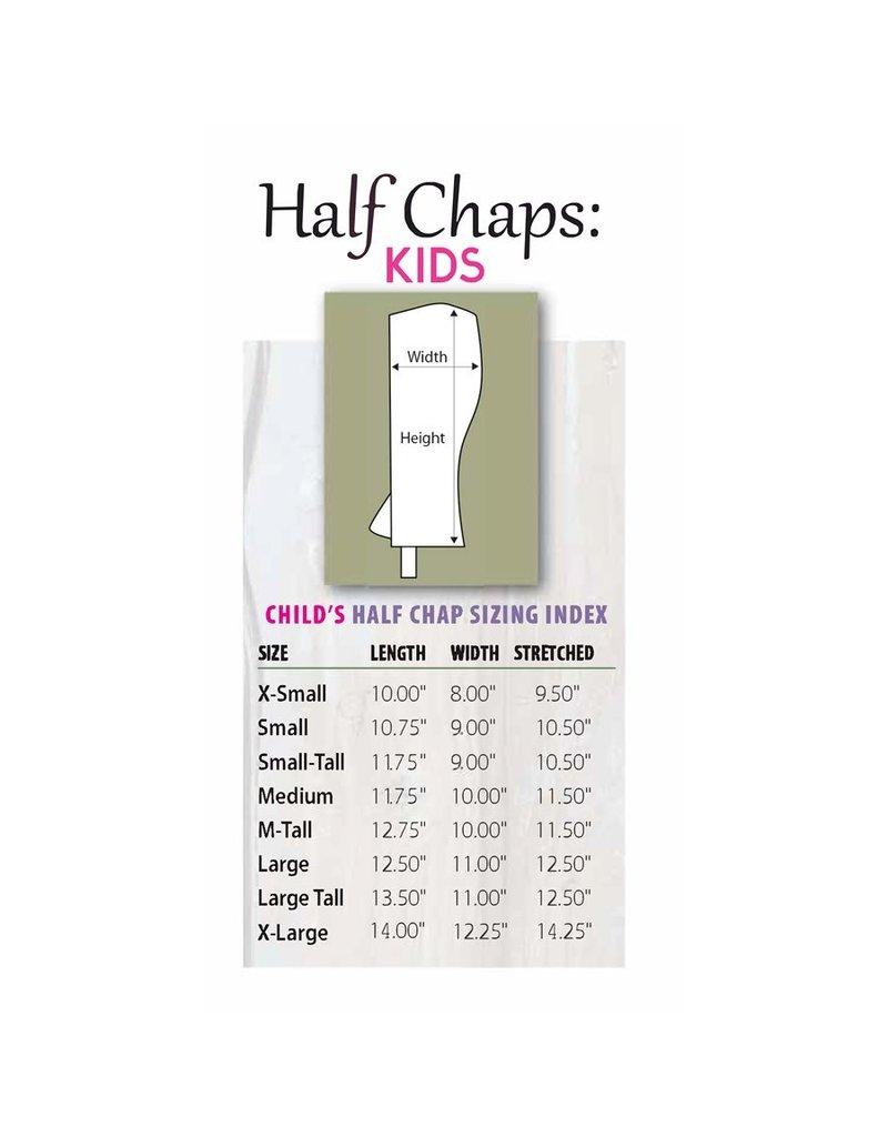 Perris Child's Zip Half Chaps