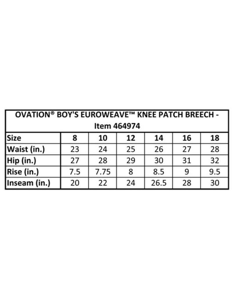 Ovation Ovation Boys 4 Pocket Classic Knee Patch Breech