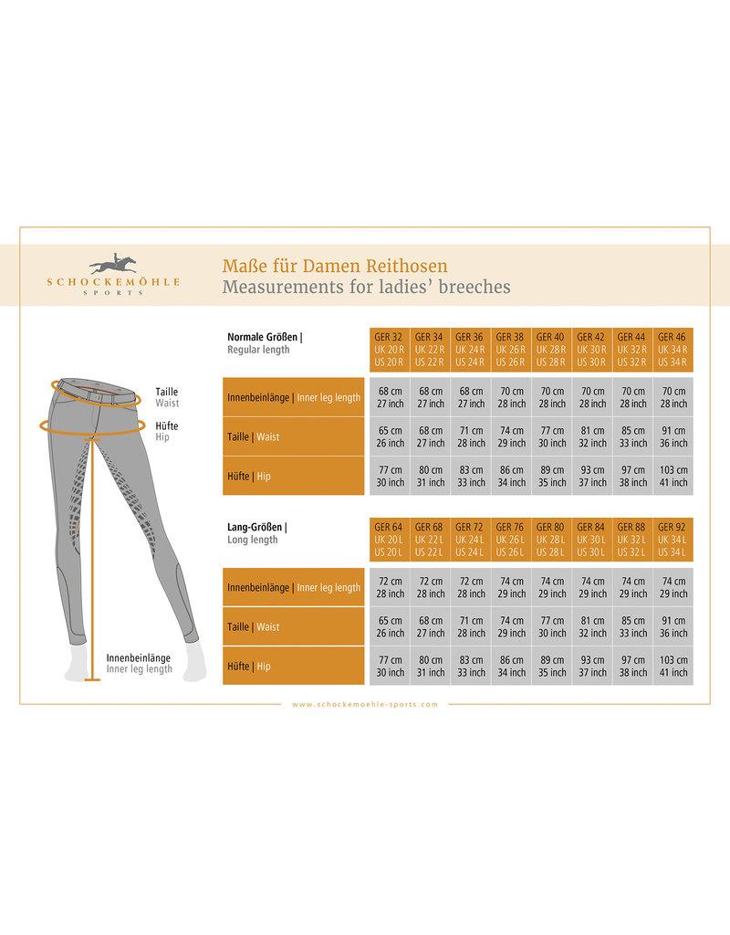 Schockemohle Equinox Jumper Libra Grip Knee Patch Breeches