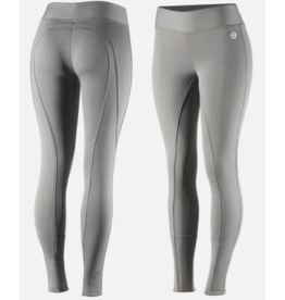 Horze Active Winter Full Seat Tights Silicone Grip