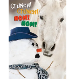 Horse Hollow Press Christmas Greeting Card