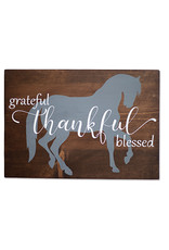 Kelley Grateful, Thankful, Blessed Wall Art