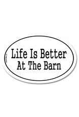GT Reid Euro Sticker Life is Better at the Barn