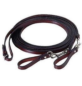 Tory Leather Leather Draw Reins Havana