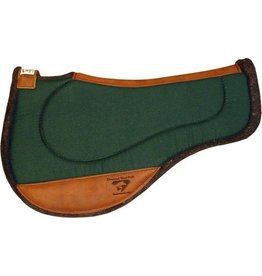 "Diamond Wool ER75 Endurance Round Contoured Ranch Pad - 33x28, 1"" thick, Hunter"