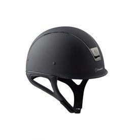 Samshield Shadow Race Helmet Matte Black Sizez 6 7/8