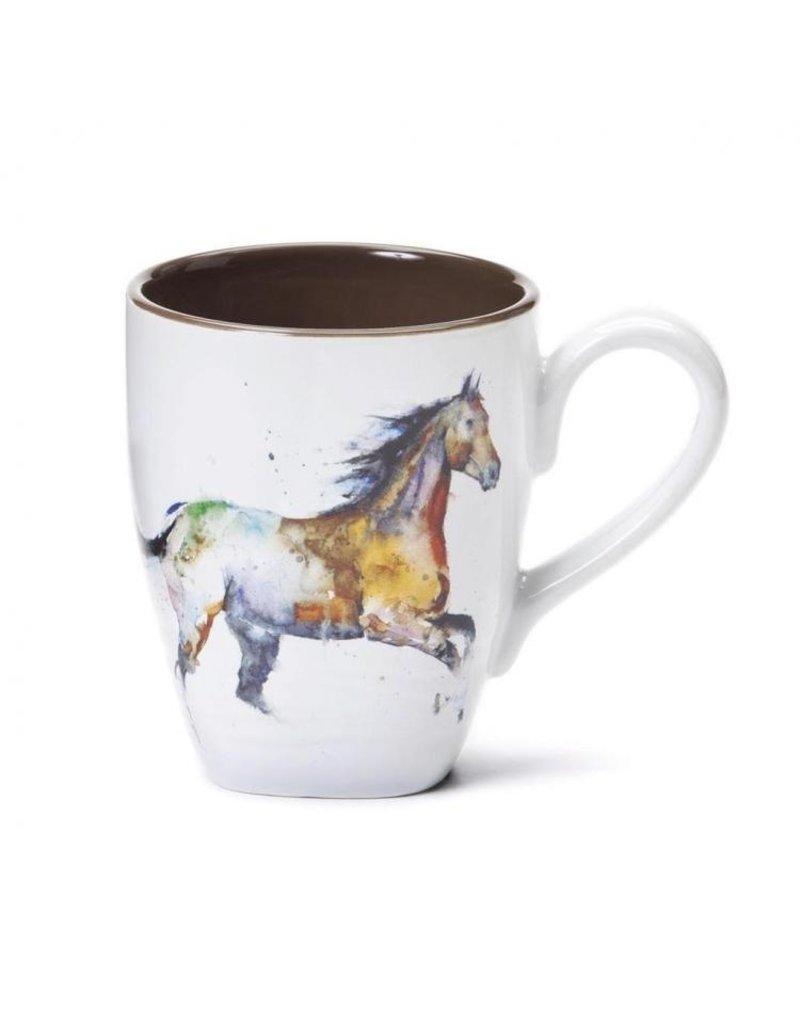 GT Reid Mug Running Horse