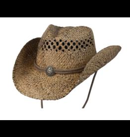 BC Hats Organic Raffia Hat with Concho