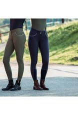 Horze Aubrey Womens High Waisted Silicon Full Seat Breeches