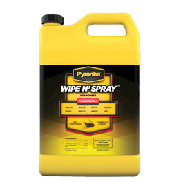 Pyranha Pyranha Wipe N Spray Gallon