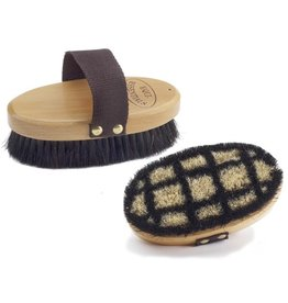 Equi-Essentials Equi-Woodback Body Brush with Horsehair