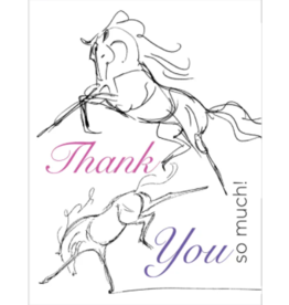Horse Hollow Press Thank You Card