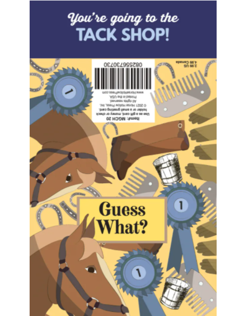 Horse Hollow Press Gift Card Holder