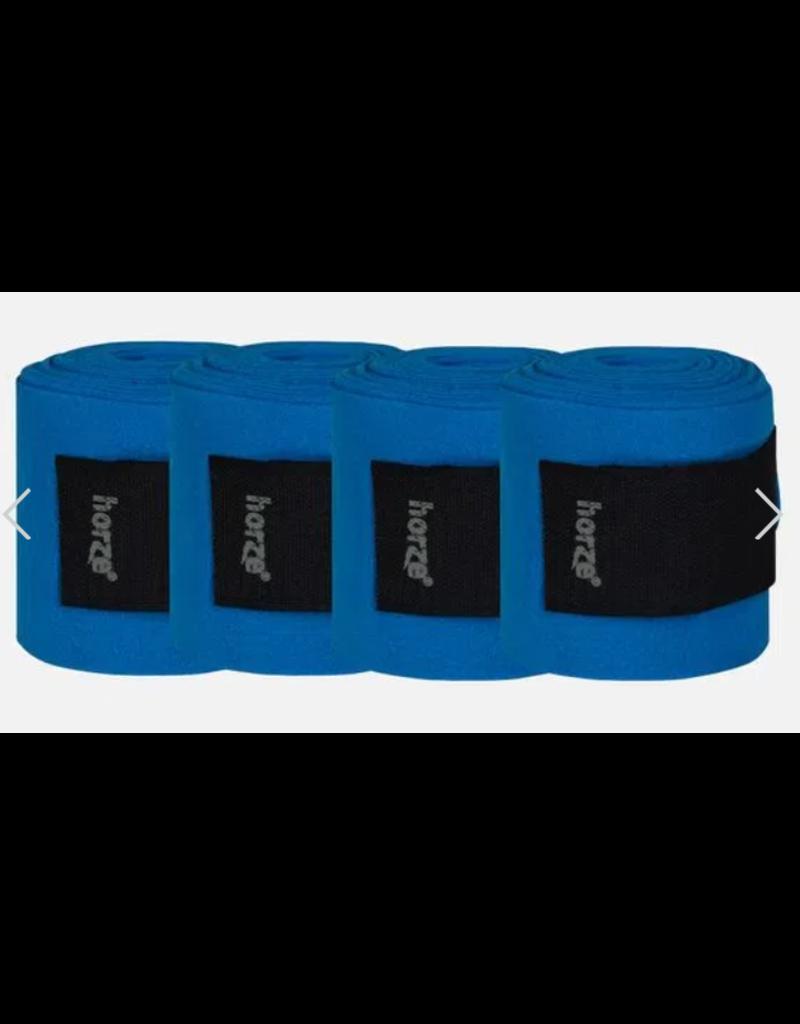 Horze Fleece Bandages Brilliant Blue