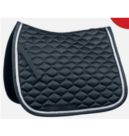 B Vertigo Aria Dressage Saddle Pad Dark Navy
