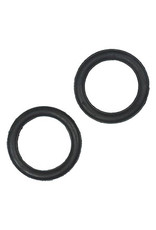 Intrepid International Replacement Peacock Rubber Bands Black