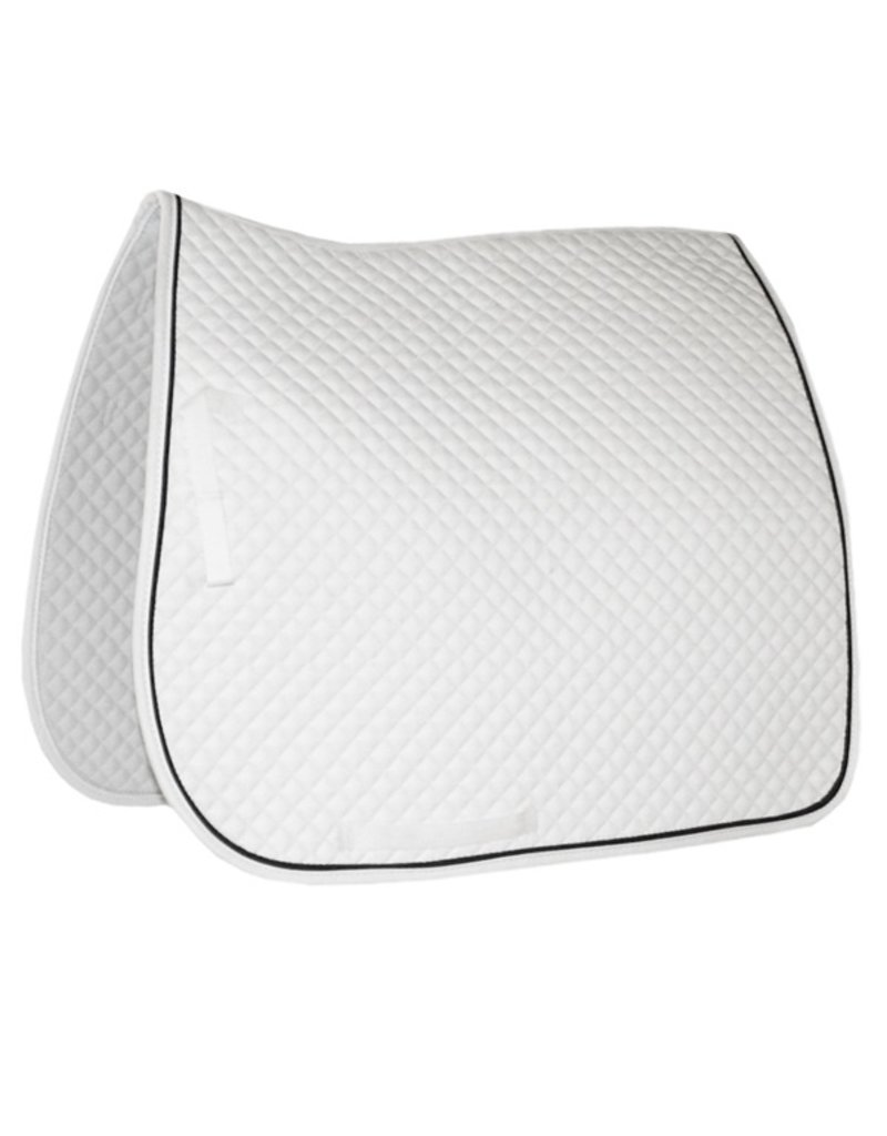 Jacks Quilted Dressage Pad White