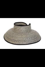BC Hats Hamptons Wheat Straw Visor