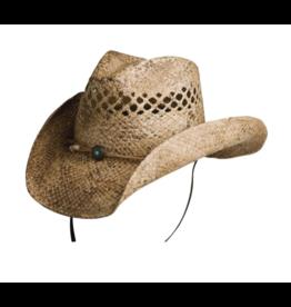 BC Hats Sadie Western Shapeable Raffia Hat