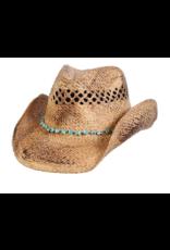 BC Hats Durango Turquoise Western Hat