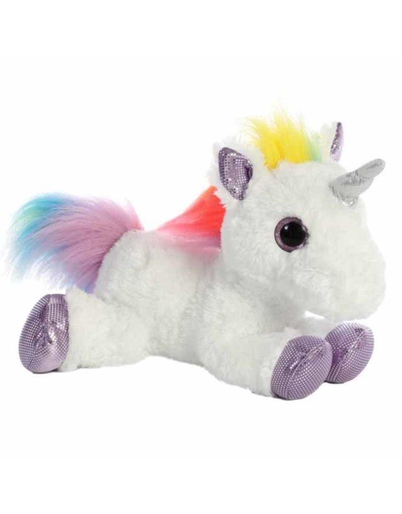 "GT Reid 12"" Plush Rainbow Unicorn"