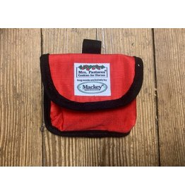 Mrs Pastures Mrs. Pastures Treat Pouch Red
