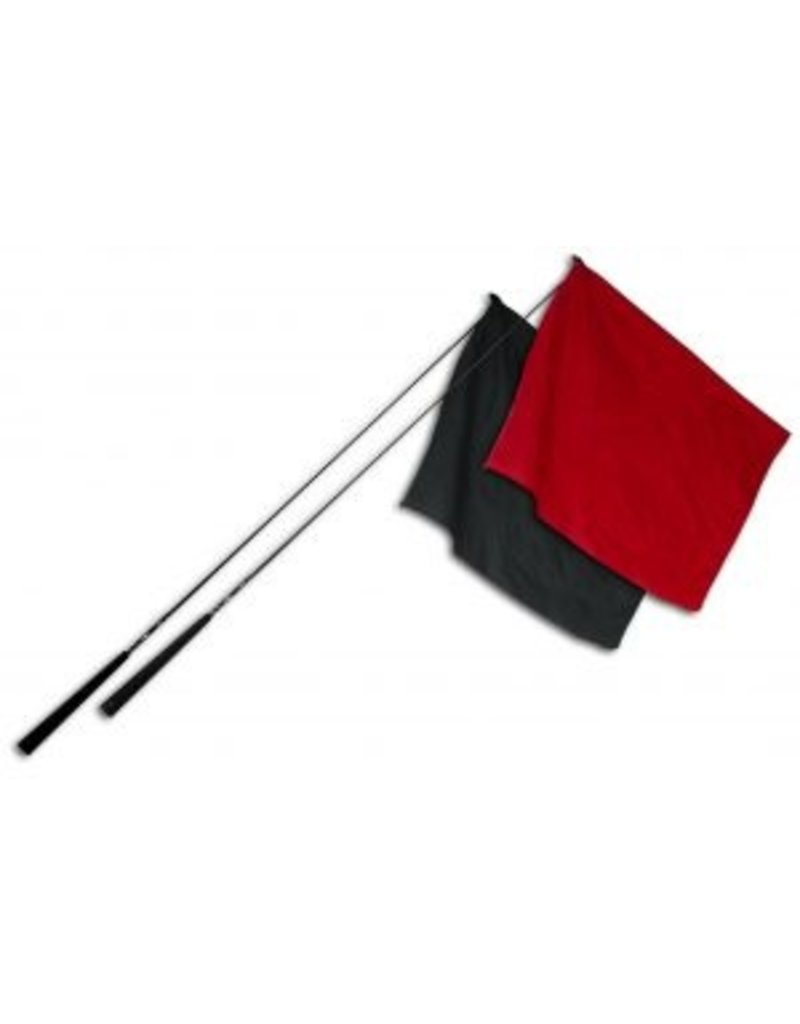 Double Diamond Composite Flag with Rubber Handle