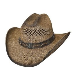 """Bullhide Hat Co Large """"Out of the Range"""" Hat Pecan"""