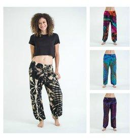 Sure Design Wholesale Tie Dye Harem Pants