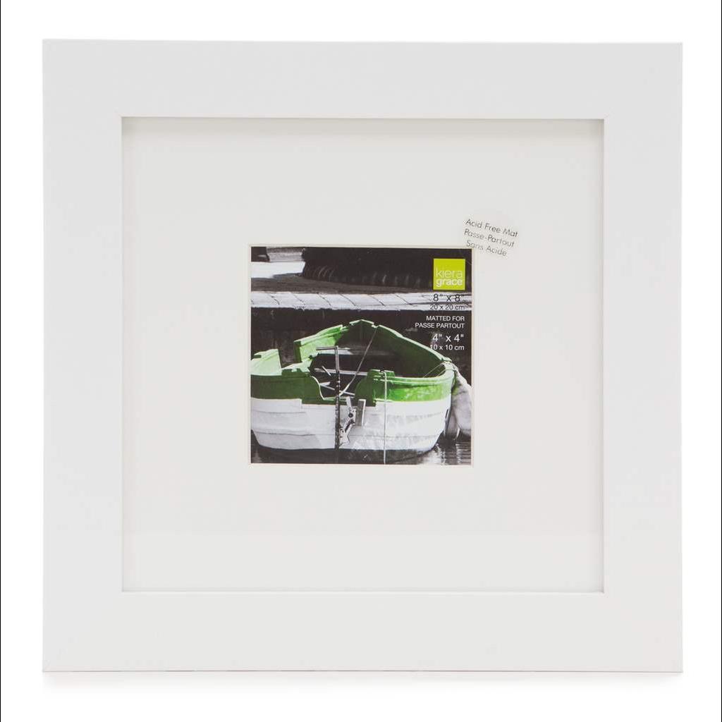 AZ Frame Langford White 8X8