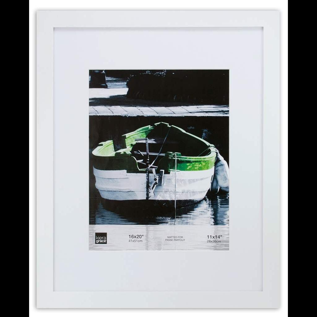 AZ Frame Langford 16X20 White