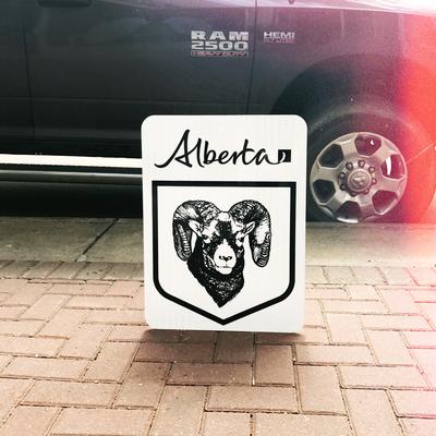 ATS Bighorn Highway Sign