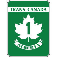 ATS Trans-Canada Highway 1 Sign