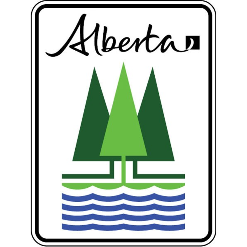 ATS Northern Woods & Water Route Sign