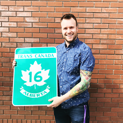 ATS Trans-Canada Highway 16 Sign