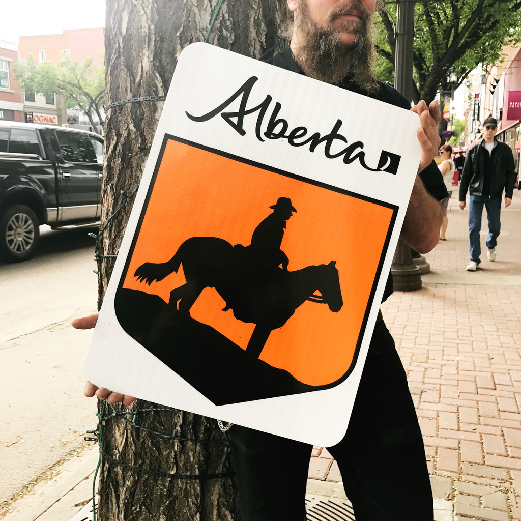 ATS Cowboy Trail Sign