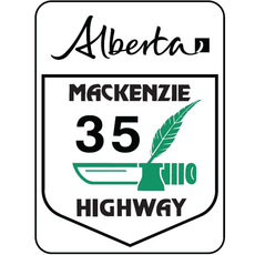 ATS Mackenzie Highway Sign