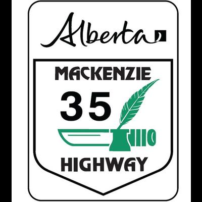 ATS Mackenzie Highway Sign