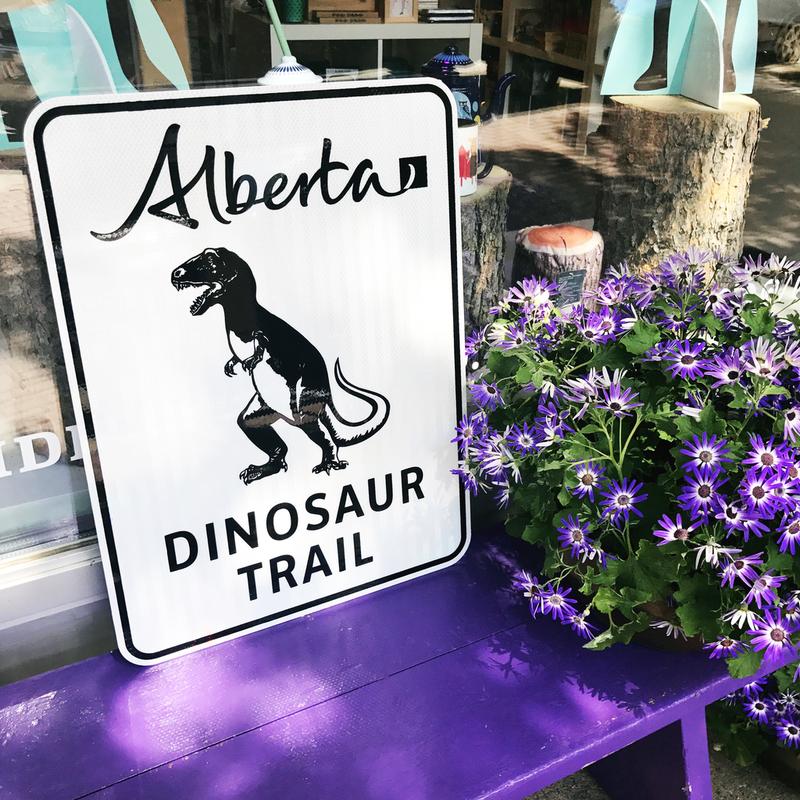 ATS Dinosaur Trail Sign