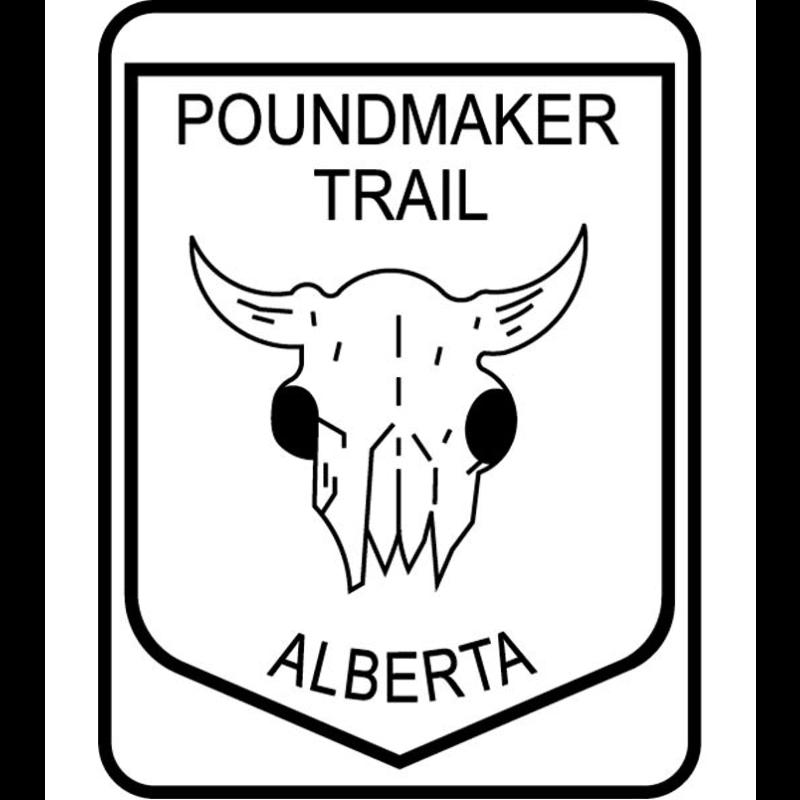 ATS Poundmaker Trail Sign
