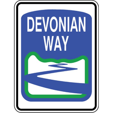 ATS Devonian Way Sign