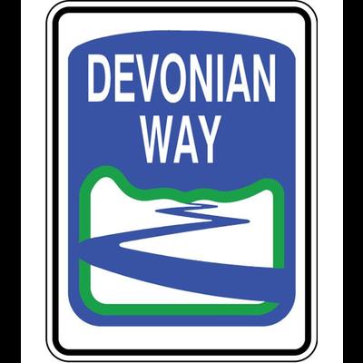 ATS Devonian Way Sign